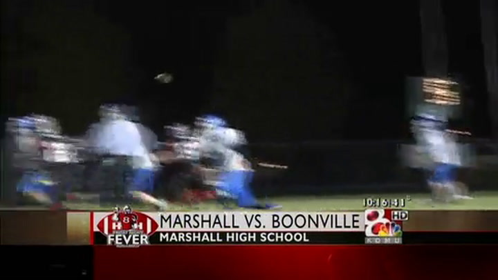 Boonville at Marshall FNF Week Nine