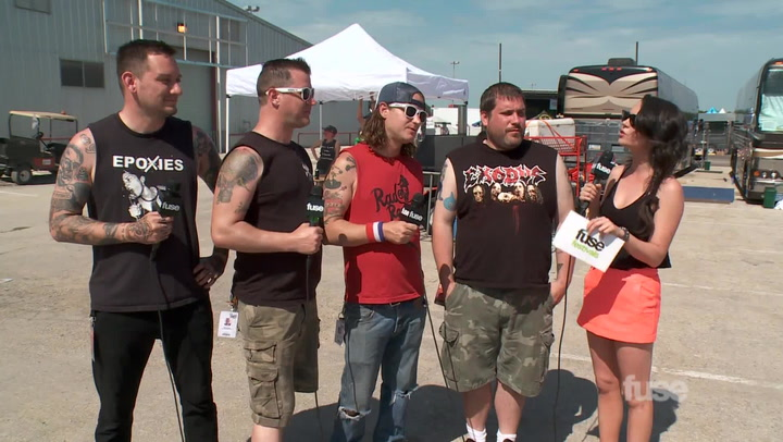 Interviews: Teenage Bottlerocket at Warped Tour 2014