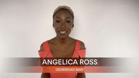 Angelica Ross, winner of the GROUNDBREAKER AWARD