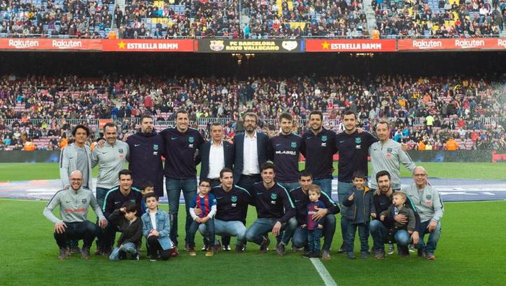 El Barça ofrece la 23ª Copa del Rey de hockey patines en el Camp Nou