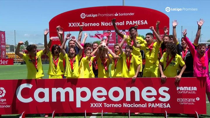 ¡El Villarreal, campeón de LaLiga Promises tras derrotar al Sevilla en la final!