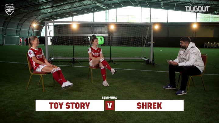 Jordan Nobbs and Lotte Wubben-Moy's World Cup of animated films