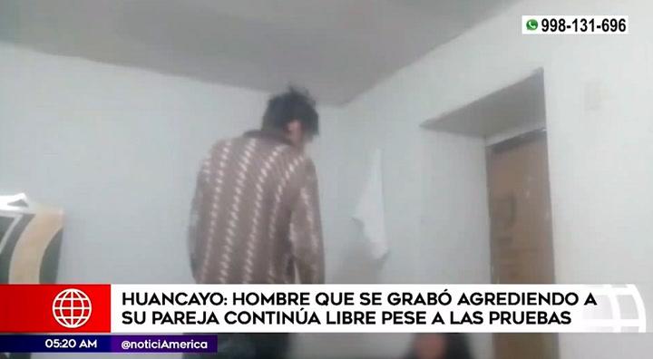 Huancayo: Hombre se graba golpeando a su pareja y continúa en libertad | VIDEO