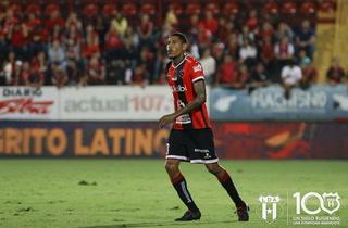 Henry Figueroa anota su primer gol con el Alajuelense en Costa Rica