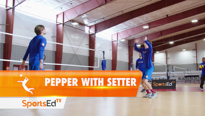 PEPPER WITH SETTER DRILL