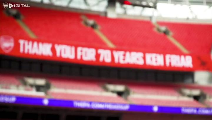 Bastidores do título do Arsenal sobre o Chelsea em Wembley