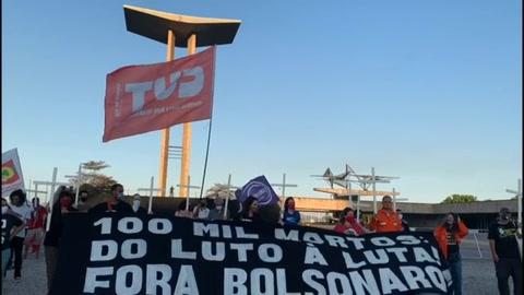 Brasil rebasa 100.000 muertos y Chile 10.000 en la región más golpeada por la pandemia