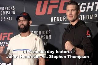UFC media day feature: Hendricks vs. Thompson