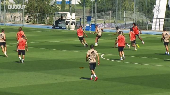 Real Madrid Getafe Maçı Hazırlıklarına Başladı
