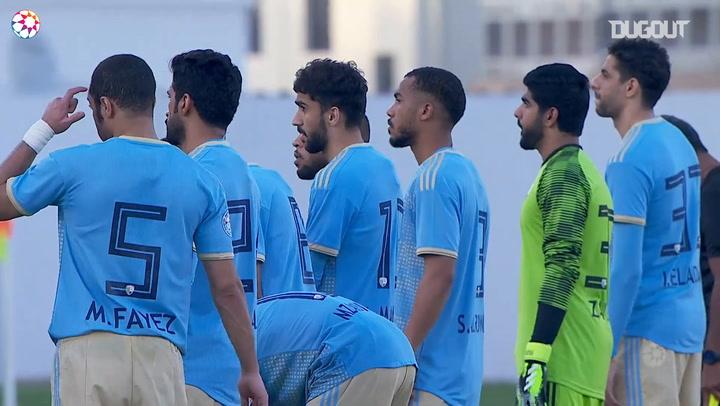 AGL Match day 14 highlights: Ajman 2-1 Al-Dhafra