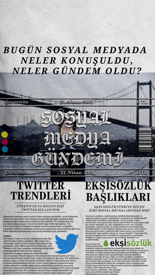 Sosyal medyayı sallayanlar - 21 Nisan