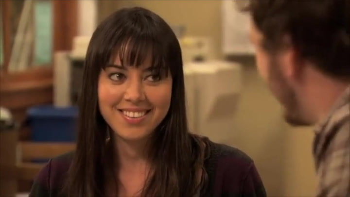 April Ludgate had tremendous growth throughout the seasons of Parks and Recreation from being mean and selfish to more caring and compassionate.