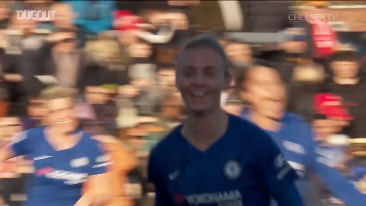 El golazo de Sophie Ingle ante el Arsenal nominado al Premio Puskás