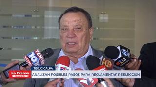 ANALIZAN POSIBLES PASOS PARA REGLAMENTAR REELECCIÓN