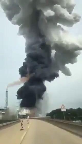 Un muerto y 4 desaparecidos por explosión de planta de tratamiento de residuos en Alemania