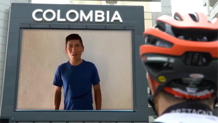 El Arkea anuncia el fichaje de Nairo Quintana