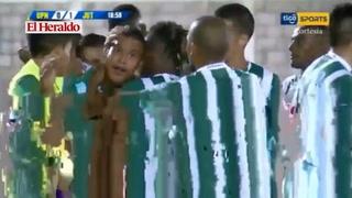 Óscar Salas abre el marcador para Juticalpa 1-0 ante UPNFM