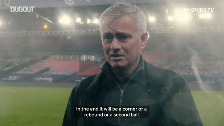 Jose Mourinho gives his view on Spurs 1-1 draw with Palace