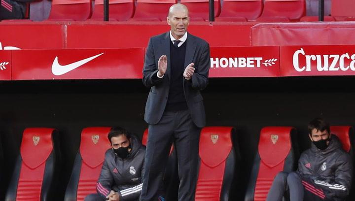 """Zidane: """"Hoy los jugadores demostraron que tiene carácter"""""""