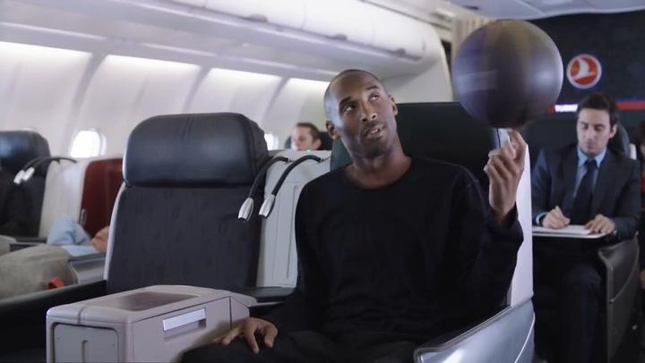 Divertido anuncio que protagonizaron Kobe Bryant y Leo Messi