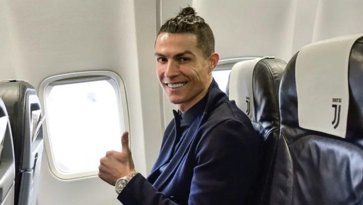Cristiano Ronaldo ya está en Italia y tendrá que pasar una cuarentena