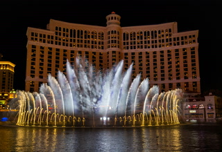 Bellagio fountains to relaunch when hotel-casino reopens – VIDEO