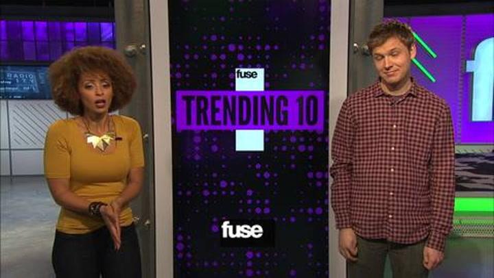Shows: Trending Ten: Tuesday 111312