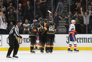 Golden Edge: Knights rally to beat the Islanders