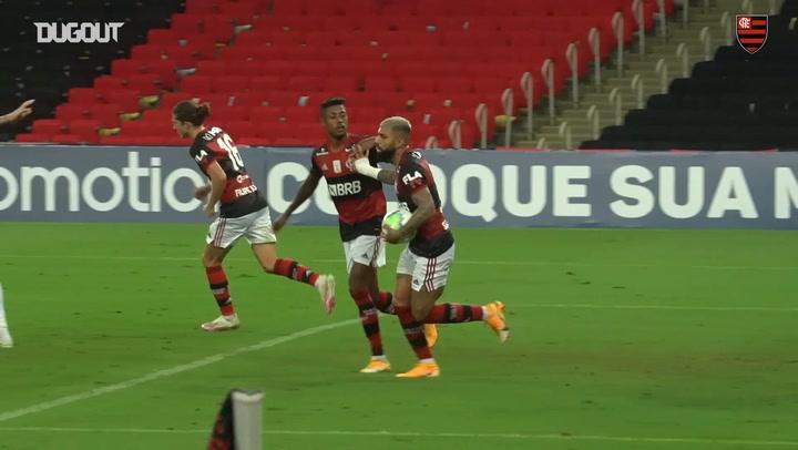 Gabriel Barbosa's Brasileirão goals in 2020 so far