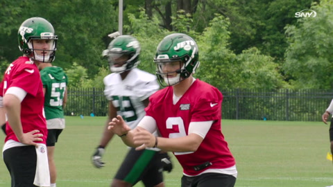 Zach Wilson's improvement, Denzel Mims' status, and previewing the Jets-Giants preseason game