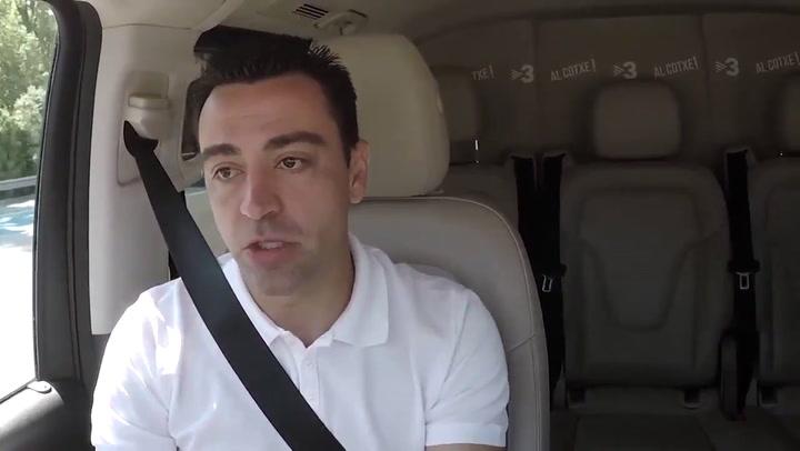 Xavi Hernández habló sobre la decisión de retirarse en el programa 'Al cotxe!' de TV3