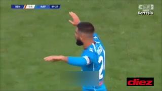 ¡Insigne, Insigne, Insigne! Tremendo golazo con el Napoli en la Serie A