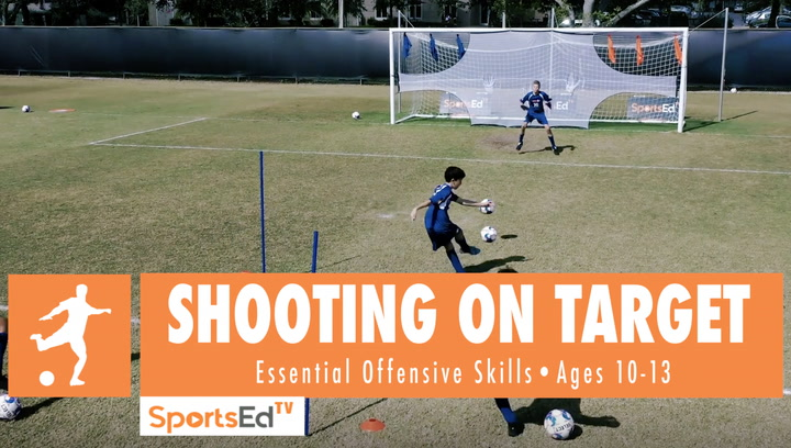 SHOOTING ON TARGET - Winning Shooting Skills 1 • Ages 10-13
