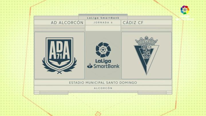 LaLiga SmartBank (J6): Resumen y goles del Alcorcón 3-0 Cádiz