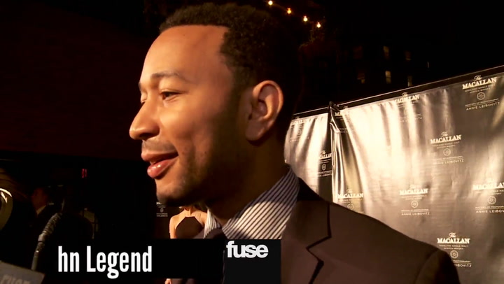 Travie McCoy & John Legend at The Macallan's Masters of Photography Event