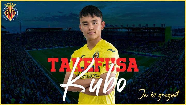Take Kubo cedido al Villarreal por una temporada