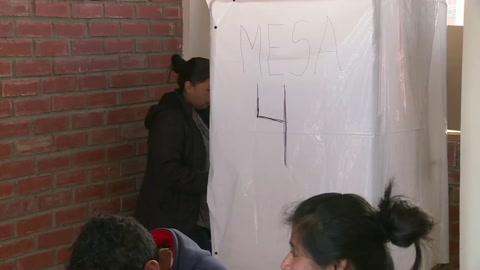 Comienza jornada de elecciones generales en Bolivia