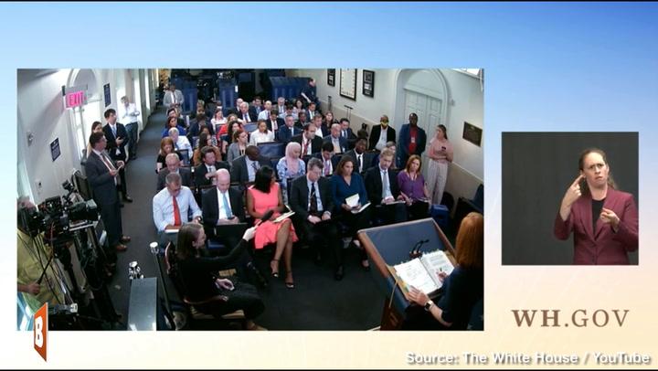 Jen Psaki Hiding White House Coronavirus Numbers: