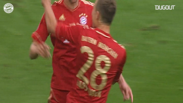 Thomas Müller's skilful finish downs FC Schalke 04