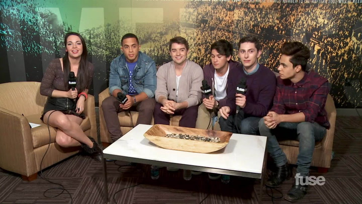 Interviews: Boy Band Midnight Red Have a Message for Cher Lloyd