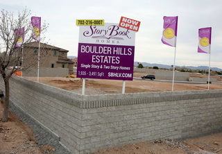Boulder City housing construction
