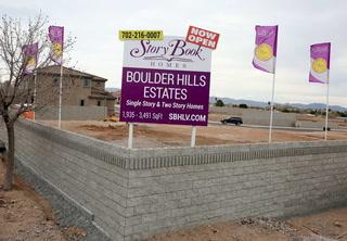 Boulder City housing construction