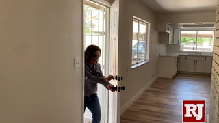 Formerly homeless veteran purchases her first home
