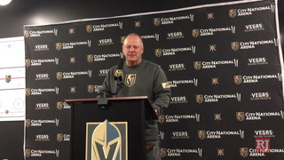 Golden Knights coach Gerard Gallant on Cody Glass