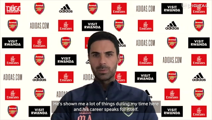 Mikel Arteta discusses David Luiz's Arsenal situation