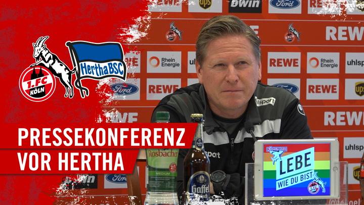 PK vor Hertha