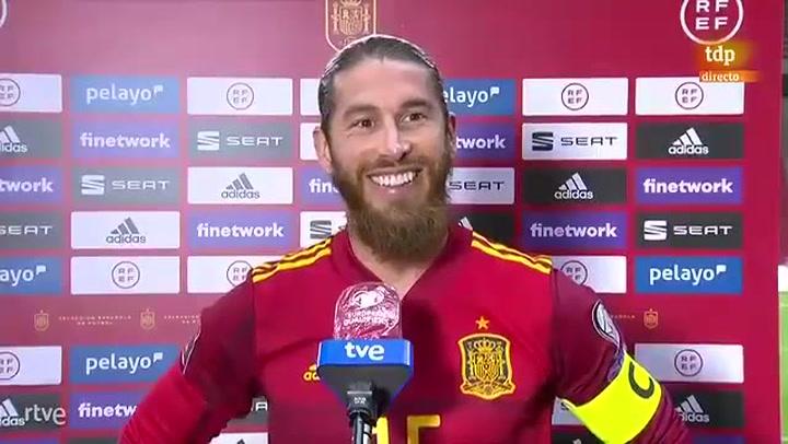 """Sergio Ramos: """"Lo importante es sumar, si son 90 minutos o uno es decisión del míster"""""""