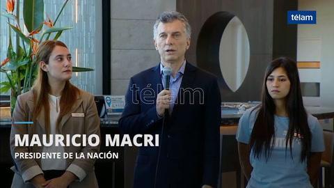 Macri: Aerolíneas debe volar sin pedirle plata a todos los argentinos