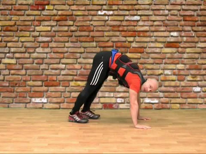 Abilica trening: Hvordan trene planke med vektvest