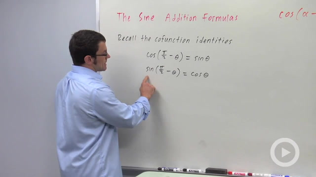 The Sine Addition Formulas